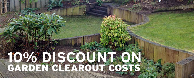 Landscape Special Offer – 10% OFF on Garden Clearout Costs!
