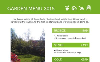 Introduction & Garden Menu 2015