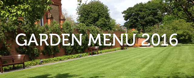 Garden Menu 2016 & Introduction to Darragh Connolly Landscaping